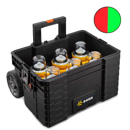 Runway Lights (Portable six pack (Red/Green)
