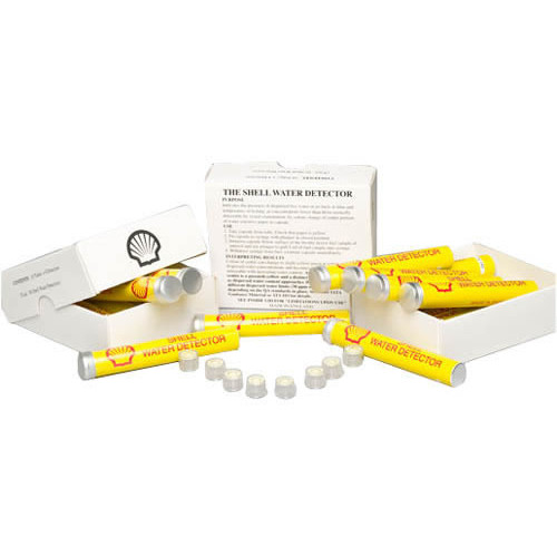 Shell Water detectors - box of 8 tubes of 10 Cap