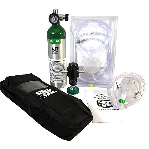 Skyox Portable Oxygen 15 Cubic Ft