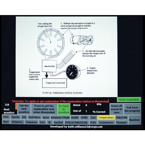 CD ROM - 1000 Q&A/JAA ATPL