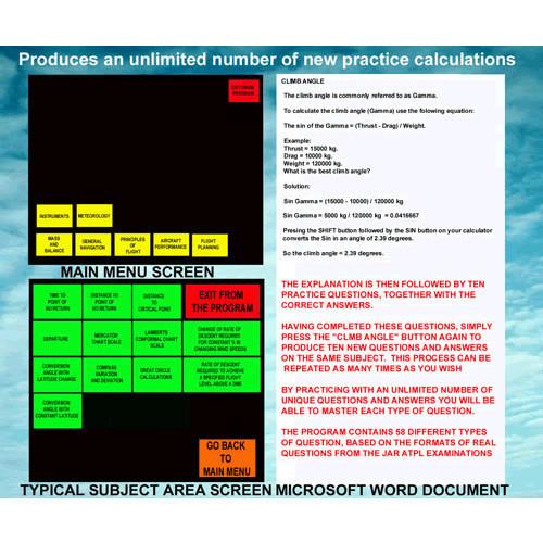 CD ROM - Mathermatics For Pilots