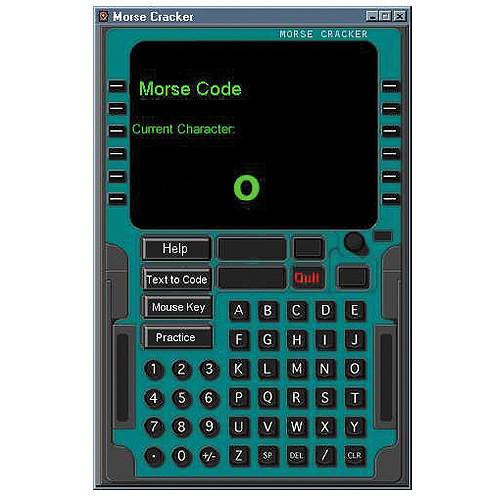 CD ROM - Morse Code Cracker