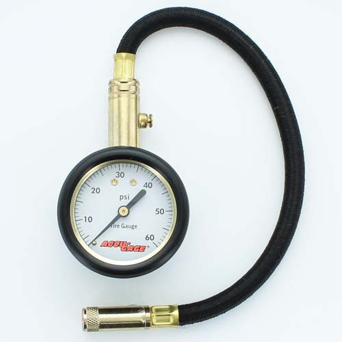 Precision Tyre Pressure Gauge 0-60psi