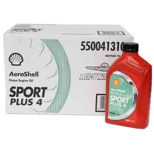 AeroShell Sport Plus 4 - Case of 12 x 1 Litre Bottles