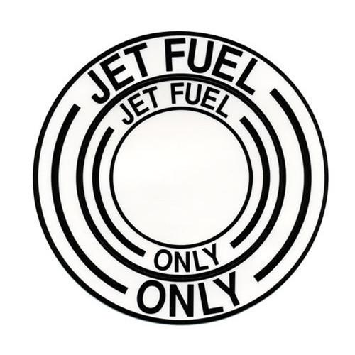 Decal-Jet Fuel Black (Diam 4 1/2)
