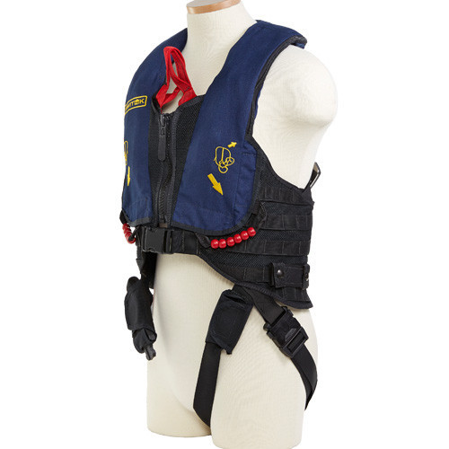 Switlik X-Back MOLLE + Air Crew Lifejacket with HEED 3