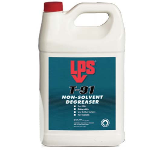 LPS T-91 Degreaser 3.78 Litre Tins (Case of 4)