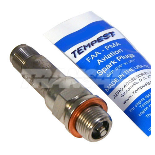 Tempest Spark Plug URHM38E Massive Electrode
