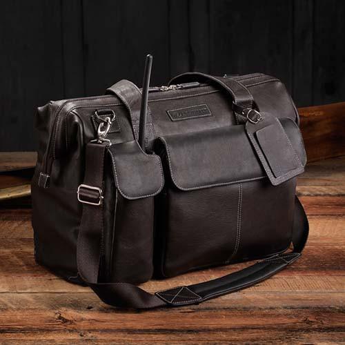 LightSpeed Flight Bag - The Gann - Espresso Brown