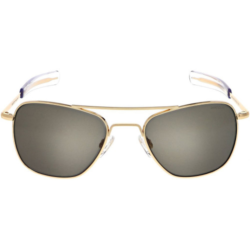 Randolph Aviator Sunglasses 23K Gold