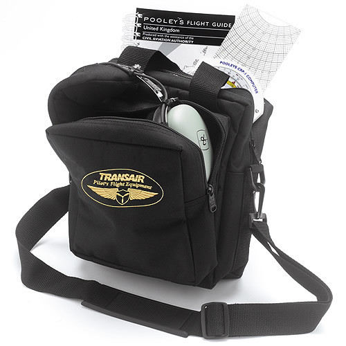 Black Transair Cockpit Flying Gear Bag
