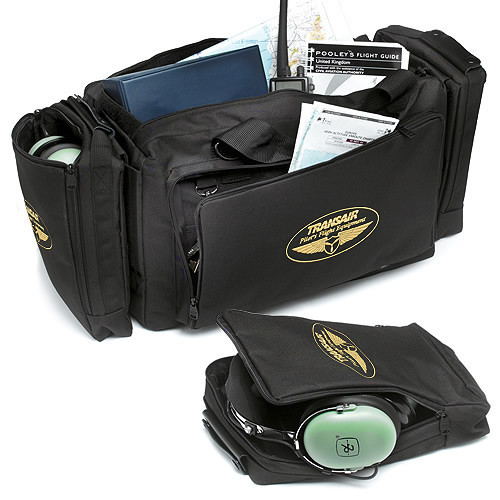 Black Transair Professional Flight Bag