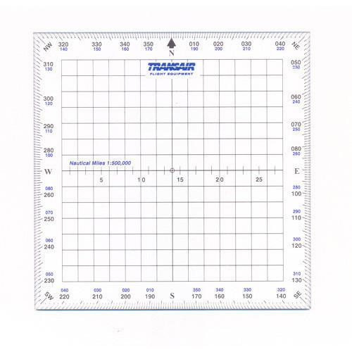 "Transair 5"" Square Protractor"