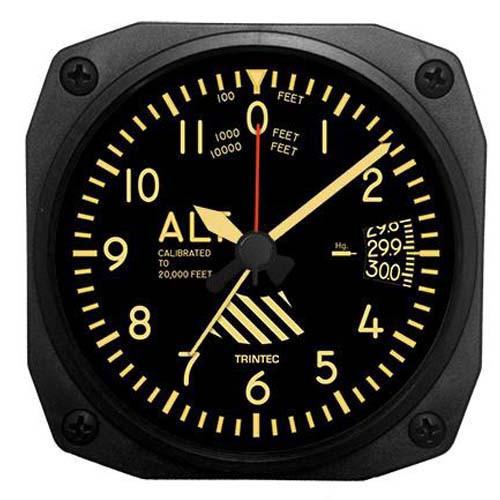 Desk Alarm Clock - Altimeter - Vintage