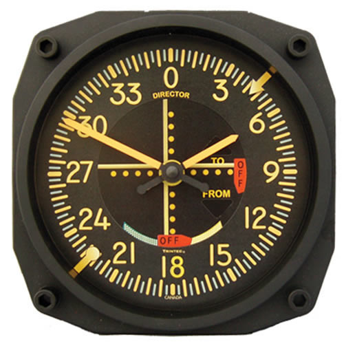 """6"""" WALL CLock - VOR - VINTAGE Indicator"""