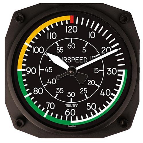 """6"" Wall CLock - Air Speed Indicator"""