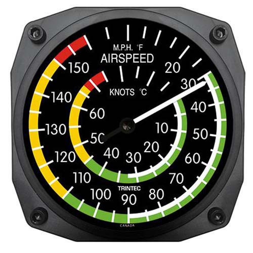 """""""6"""" Classic Air Speed Thermometer"""