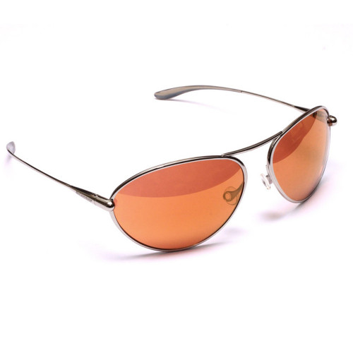 Bigatmo - Tropo Polished Titanium Frame - Copper/Brown Photochromic lens