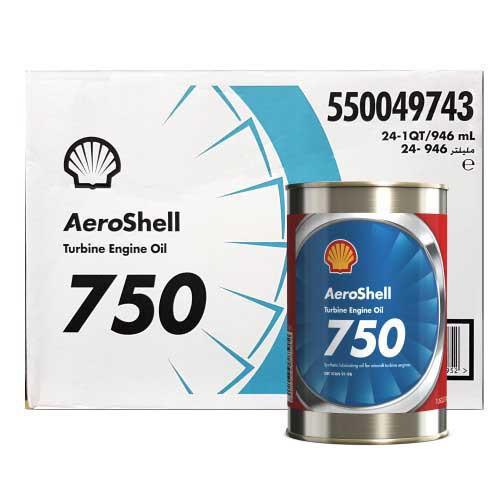 AeroShell Turbine OIL 750 - 24 x 1 US Quart