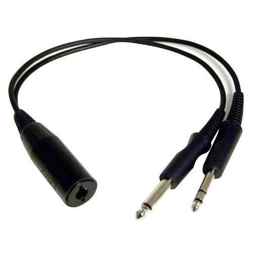 PA 75  Adaptor - UK Socket to Twin Plug