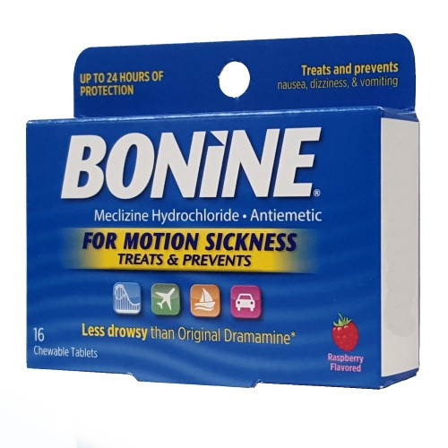 Bonine Motion Sickness Tablets