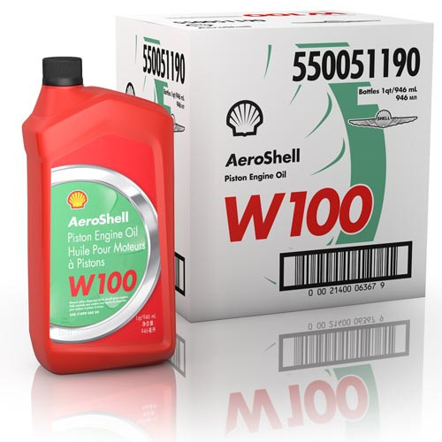 AeroShell W100 - Case of 12 US Quart Bottles