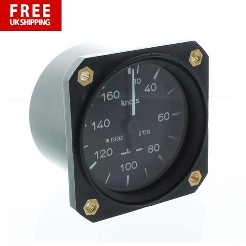 Winter 57mm Airspeed Indicator 160Kt