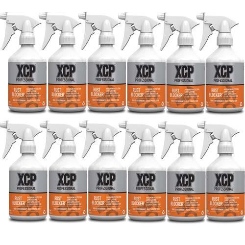 XCP Professional Rust Blocker 12 x 500ml Trigger Sprays