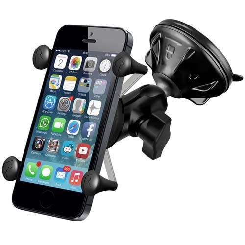 X-Grip Uni Smart Phone & Sat Nav Suction Mount