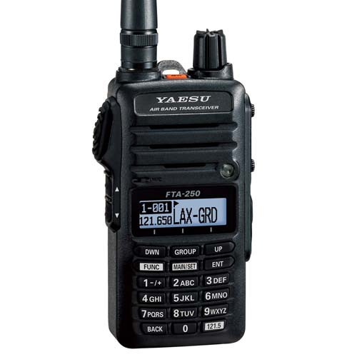 Yaesu FTA-250L Handheld VHF Transceiver