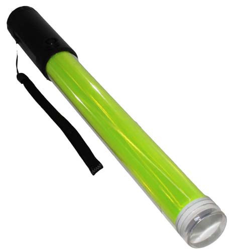 Marshalling Wand LED Light magnetic Base - Yellow