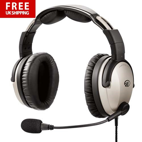 LightSpeed Zulu 3 Aviation Headset - Bluetooth - Twin Plugs