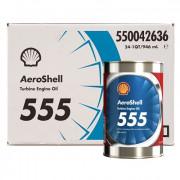 AeroShell Turbine OIL 555 - 24 x 1 US Quart
