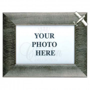Wood Frame fine pewter Piper