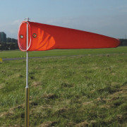 24 Inch Windsock with Pole Fitting