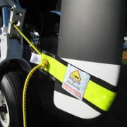 Turbo prop tie marker