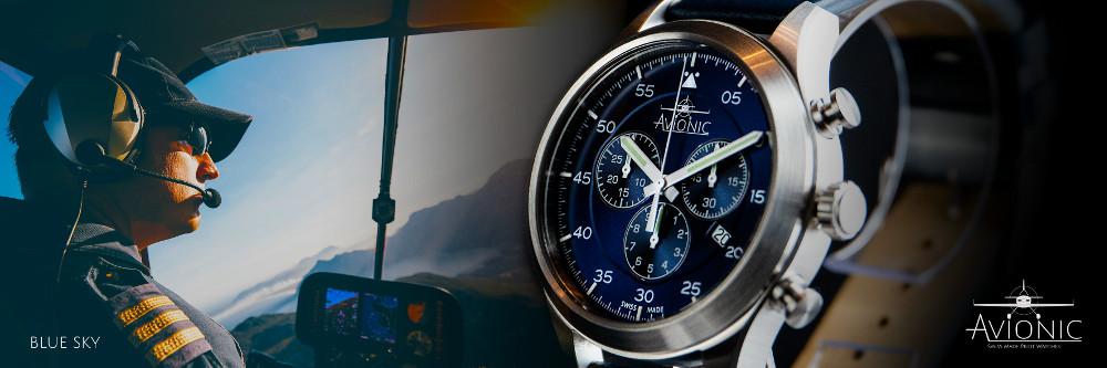 Avionic Blue Sky Watch