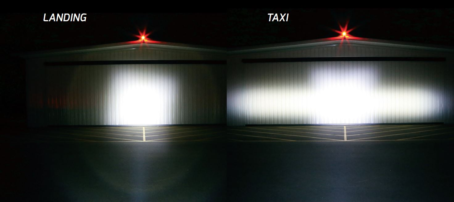 PAR36 TAXI VS LDG LIGHT COMPARISON