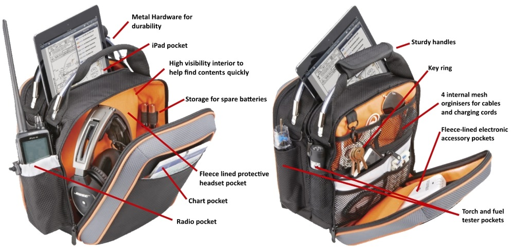 Flight Outfitters Lift Flight Bag features